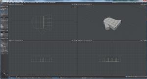 3Dキャラクター体作成、手の作成