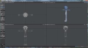 3Dキャラクターモデリング全体図