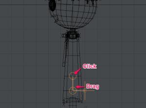 3Dキャラクターポージング、スケルゴンの入れ方