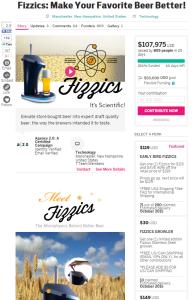 indiegogoの使い方 商品トップ