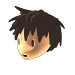 3Dキャラクターの顔の検討。第二案。