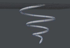 ぐるぐる渦巻き作成過程 完成形