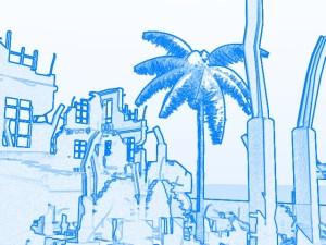 LightWaveフィルタ_Sketch_Blue