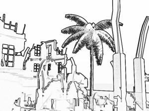 LightWaveフィルタ_Sketch_Crayon1