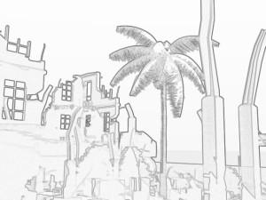 LightWaveフィルタ_Sketch_Foggy
