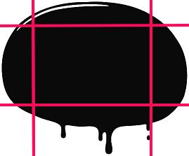 Evernoteデザイン例 背景として使用するための画像分割