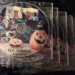 完成した配布用DVD