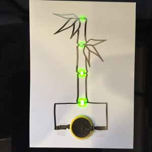 AgIC LED&電池セット 作例竹2