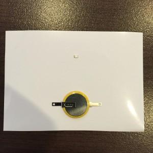 AgIC LED&電池セット 部品を置く