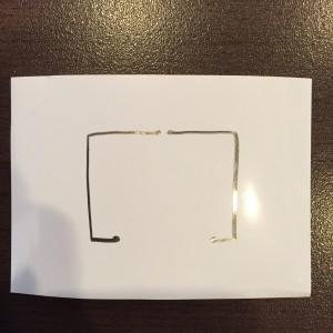 AgIC LED&電池セット 基本の回路図
