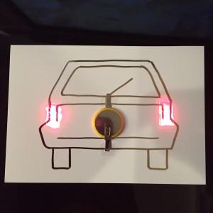 AgIC LED&電池セット 作例車2
