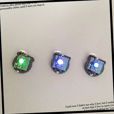 テクノアクセサリーモジュール 青、紫、フルカラー3色セット