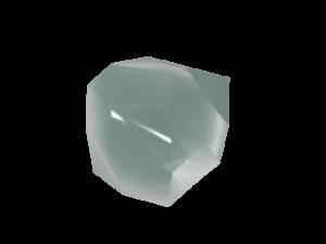 LightWaveの機能、Fractilizeを使って簡単に作れる氷-Tabなし