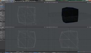 LightWaveの機能、Fractilizeを使って簡単に作れる氷-Fractilizeを使ったところ