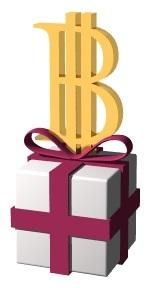 ビットコインプレゼントイメージ
